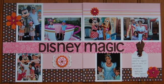 disney magic scrap pages