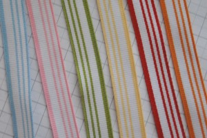 striped grosgrain ribbon share