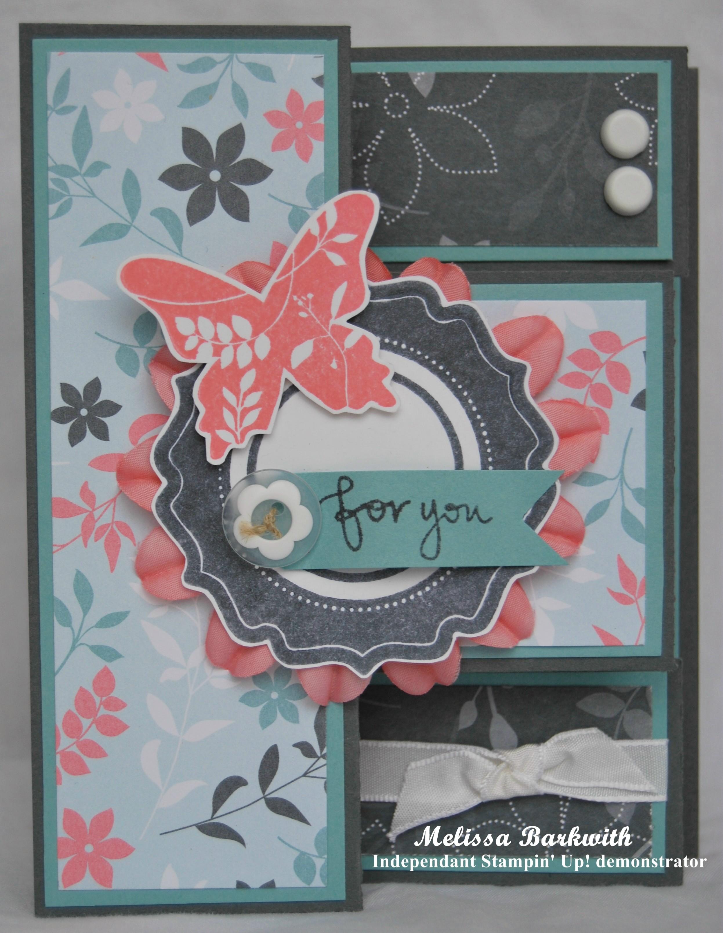 tri fold shutter card lissybee designs