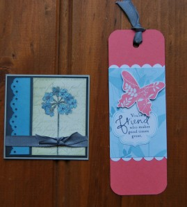 bookmark and love note